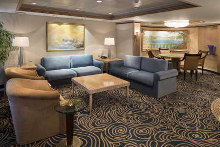Rhapsody of the Seas, Royal Suite
